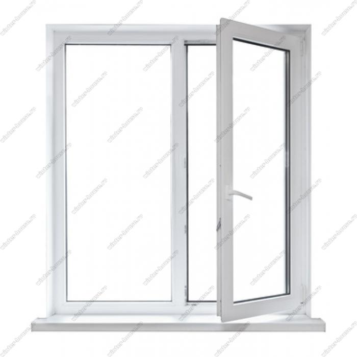 однокамерное окно ПВХ