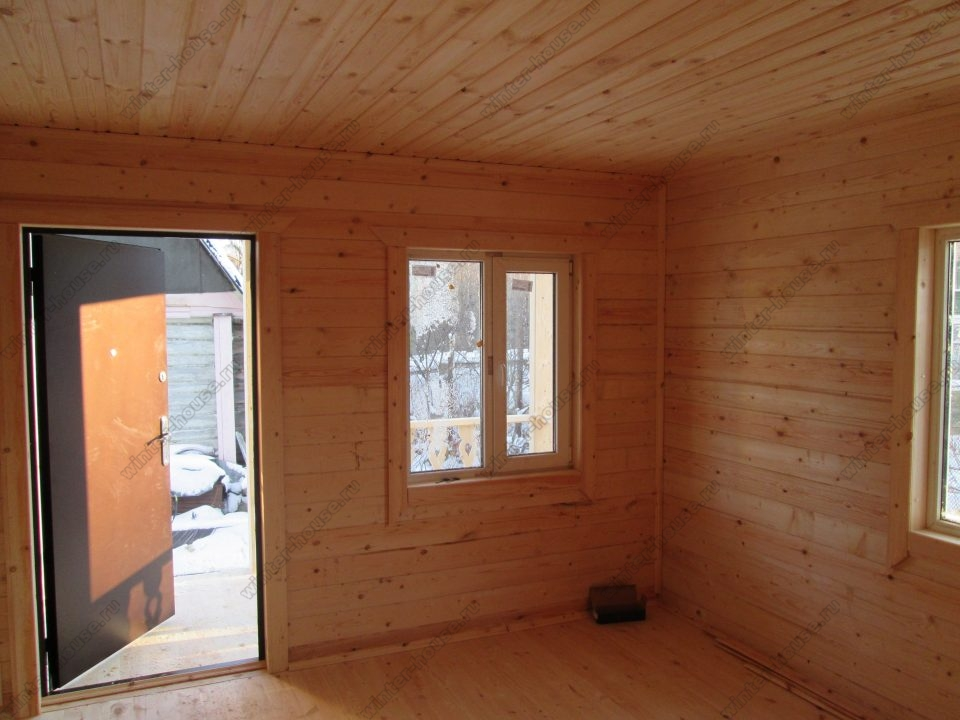 Строительство домов из бруса в Твери фото1