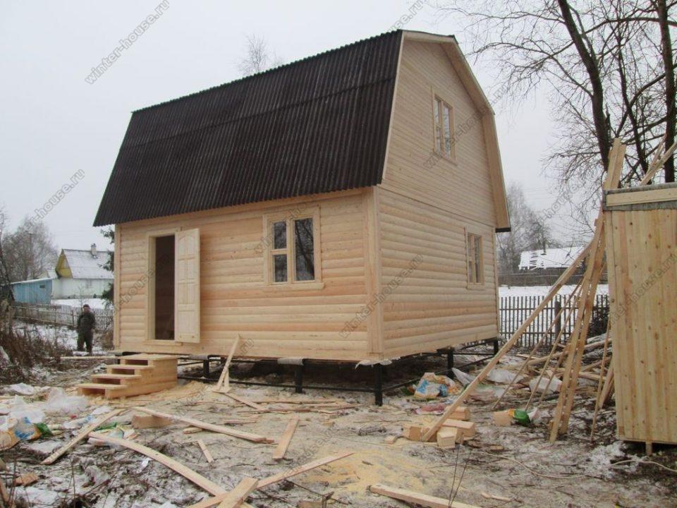 Строительство домов для постоянного проживания в Калуге