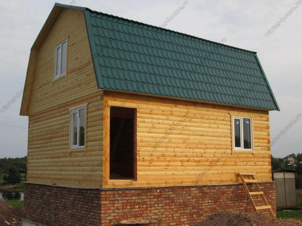 Строительство домов из профилированного бруса во Владимирской области
