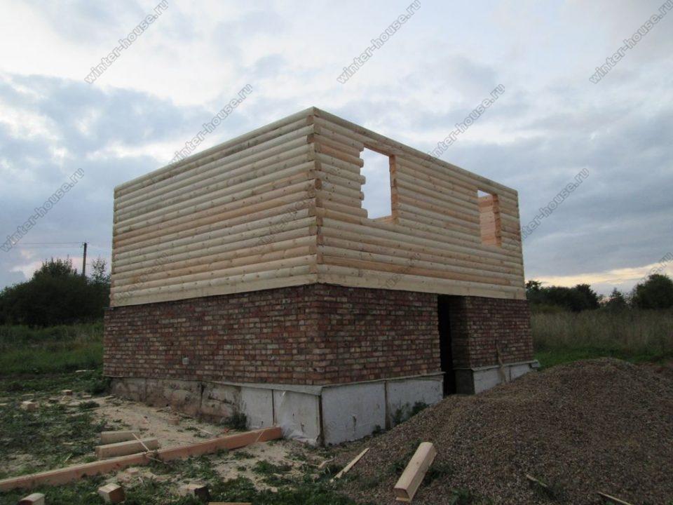 Строительство домов из профилированного бруса во Владимирской области фото1