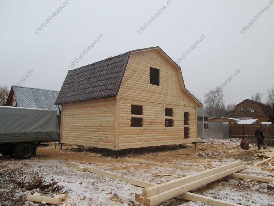 Строительство домов из бруса в Ивановской области фото1