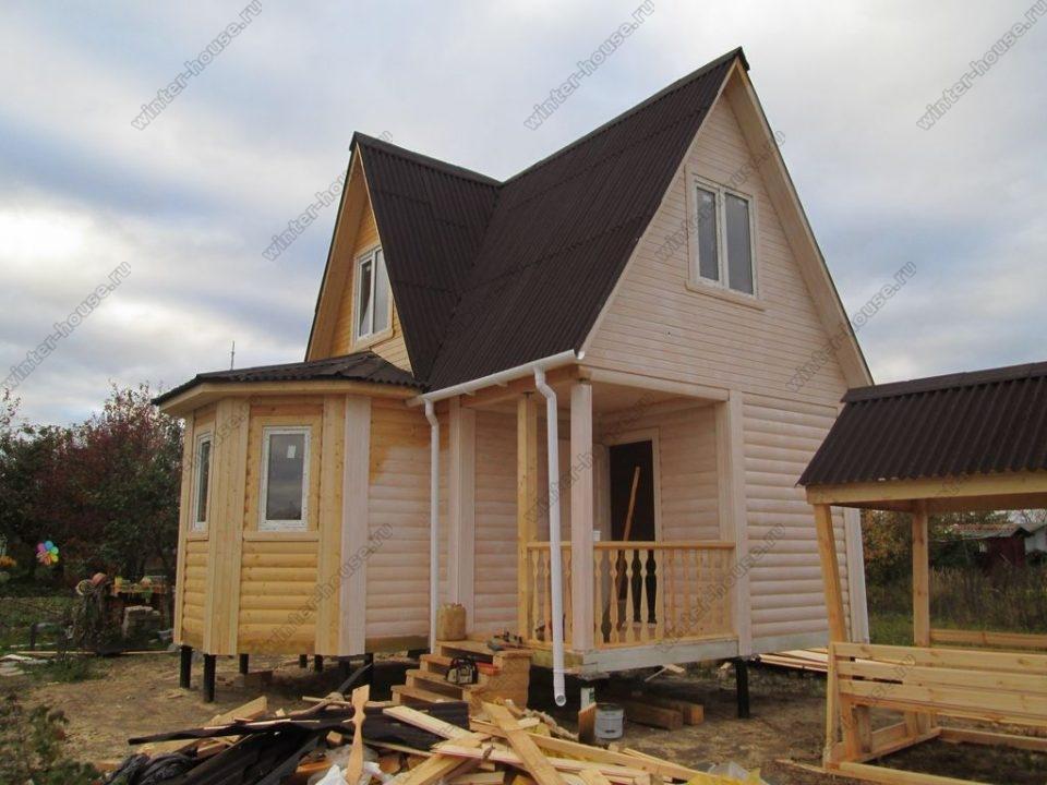 Строительство домов для постоянного проживания в Тверской области фото1