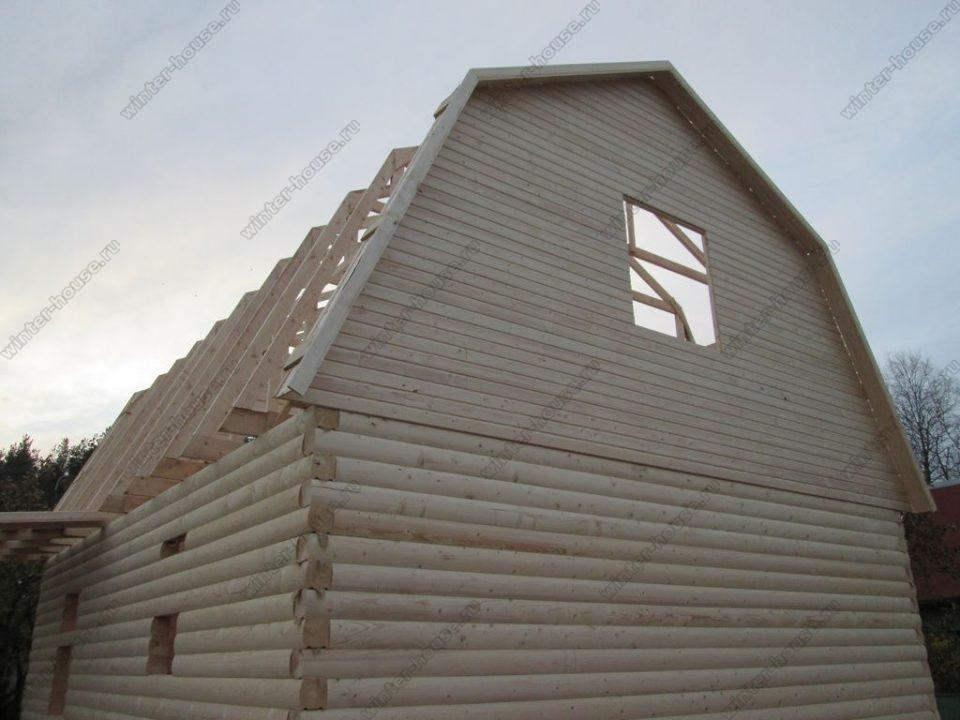 Строительство деревянных домов в Тульской области фото1