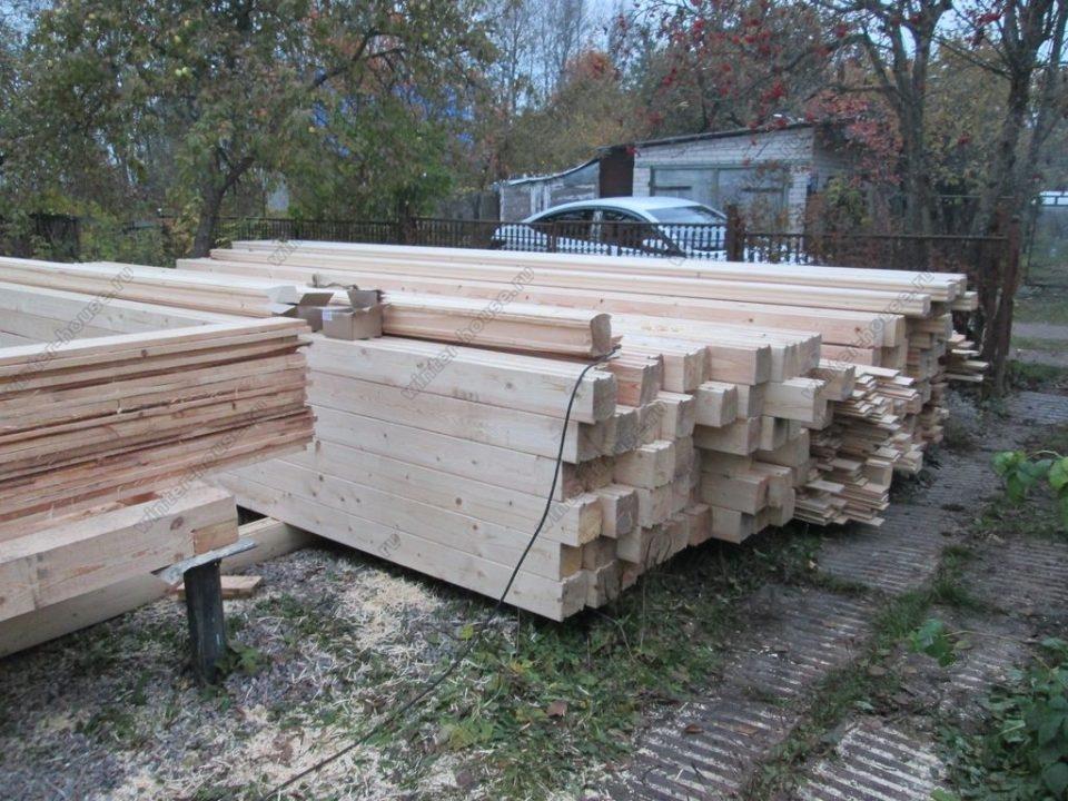 Строительство деревянных домов в Тульской области фото4