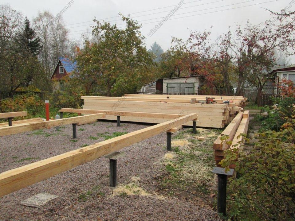 Строительство деревянных домов в Тульской области фото7
