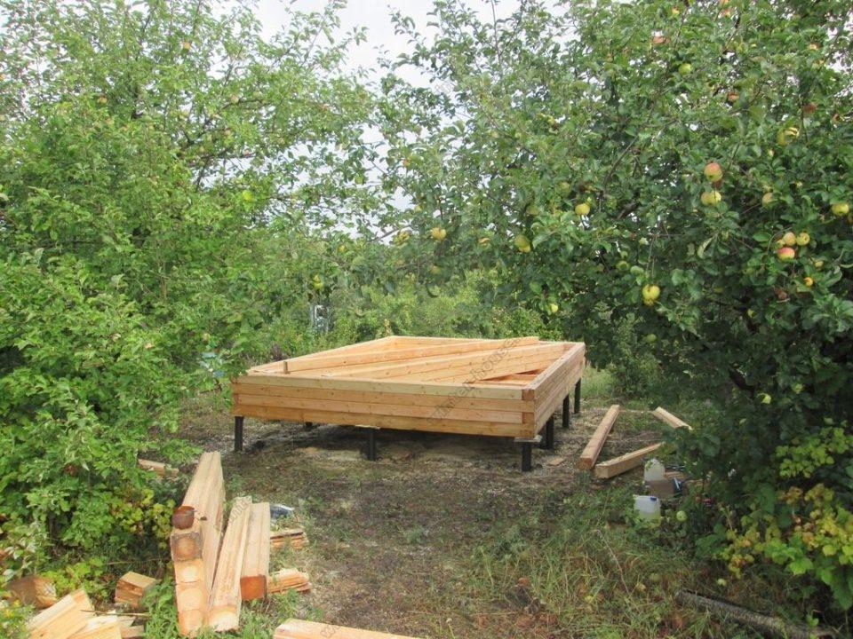 Строительство бань из бруса в Туле фото4