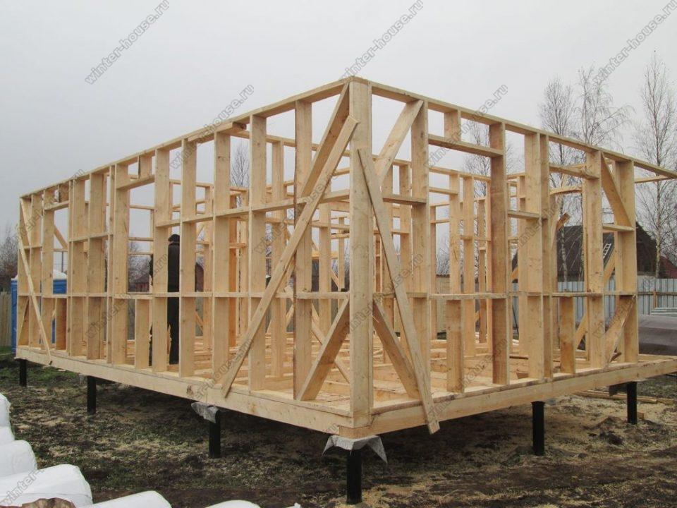 Строительство каркасных домов во Владимирской области фото1