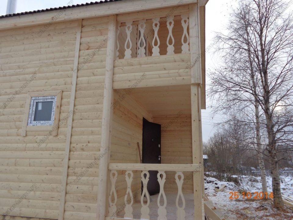 Строительство каркасных домов в Рязанской области фото2