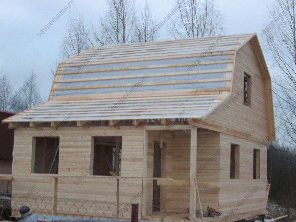 Строительство каркасных домов в Твери фото1