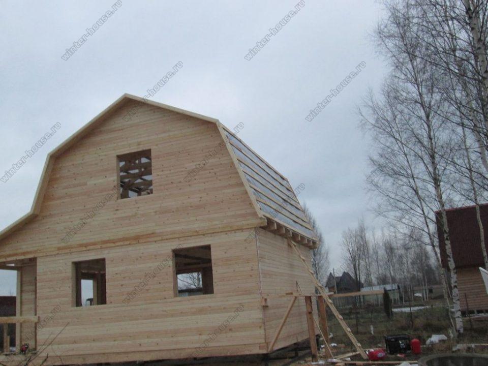 Строительство каркасных домов в Твери фото2