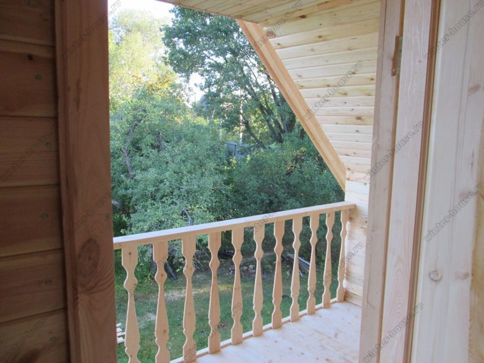 Строительство домов из профилированного бруса в Твери фото1