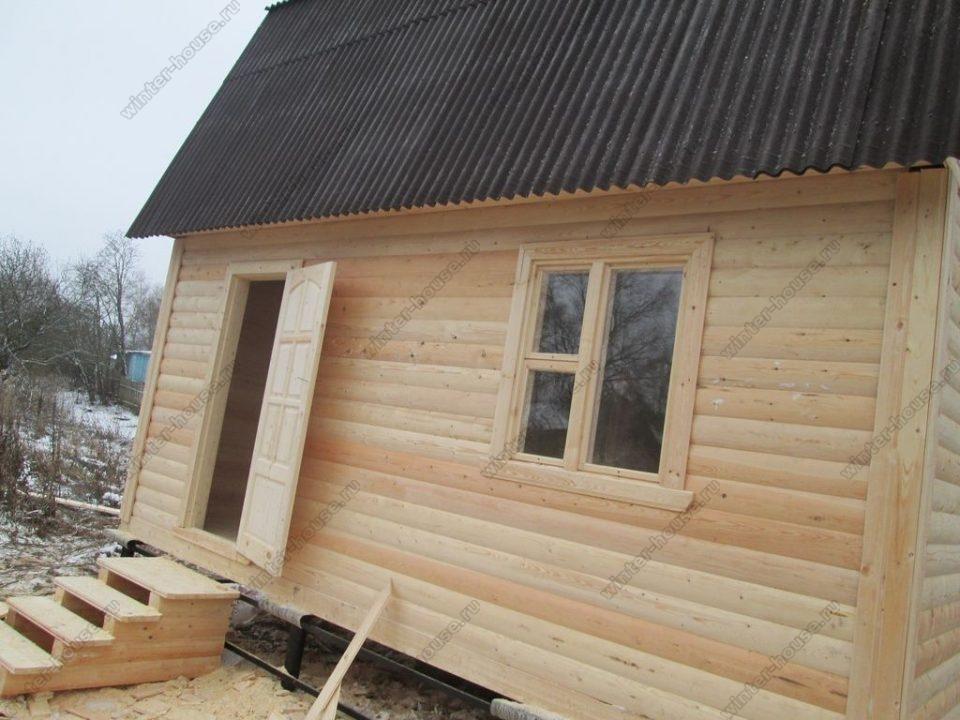 Строительство коттеджей из бруса в Тверской области фото1