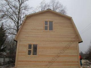 Строительство коттеджей из бруса в Тверской области