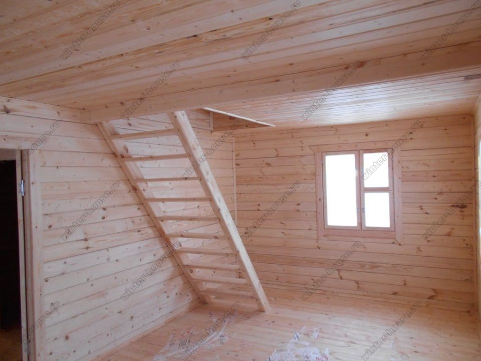 Строительство домов из профилированного бруса в Тульской области фото1