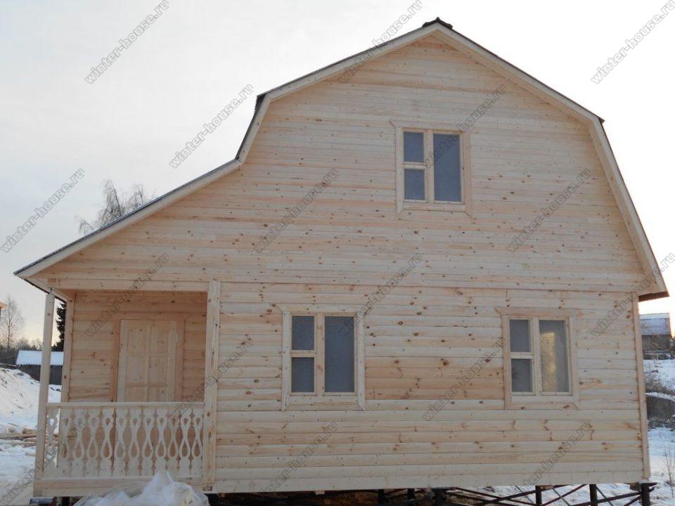 Строительство домов из профилированного бруса в Тульской области