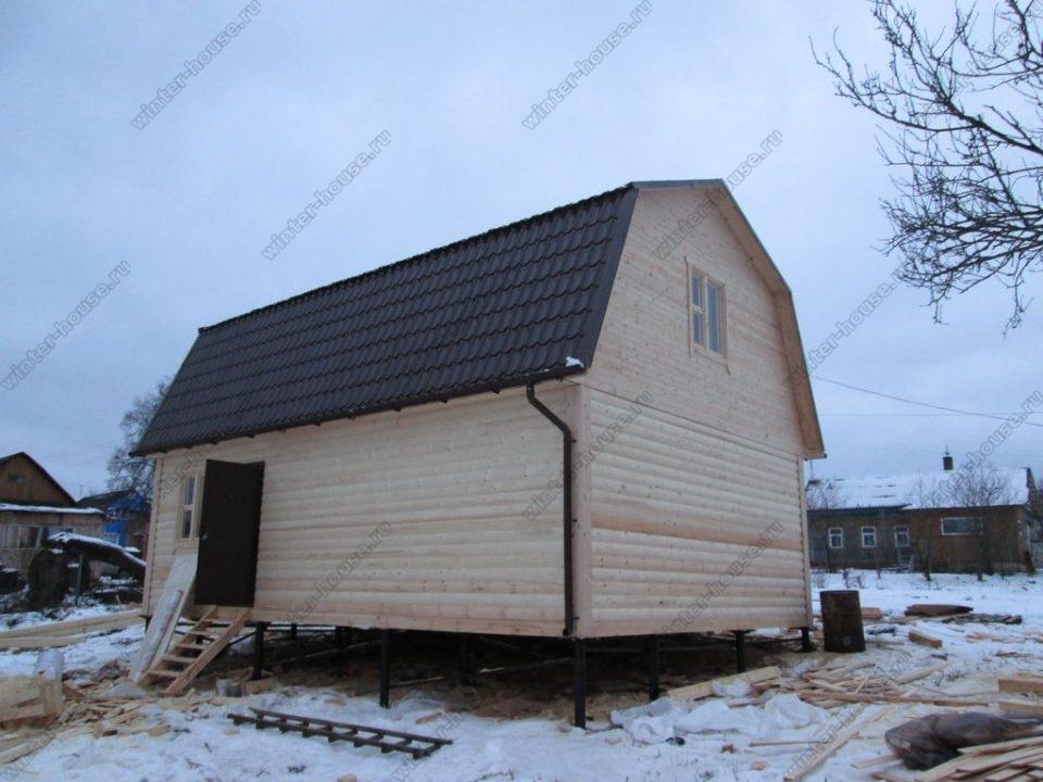 Строительство домов из профилированного бруса в Смоленске фото2