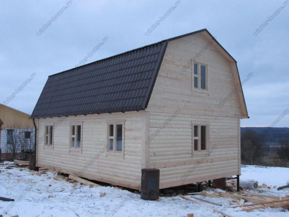 Строительство домов из профилированного бруса в Смоленске
