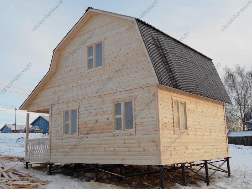 Строительство домов из бруса в Смоленской области