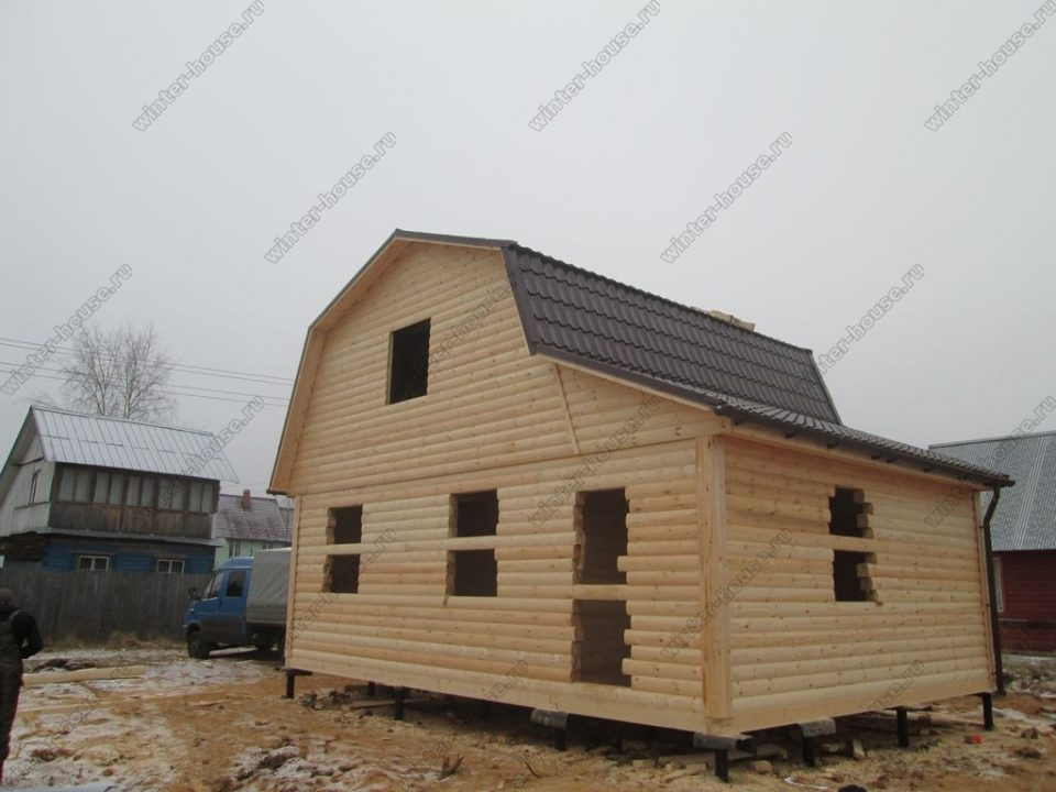 Дома из бруса в Ивановской области круглогодичного проживания