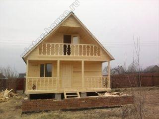 Дачный дом из бруса 6х6 проекты и цены