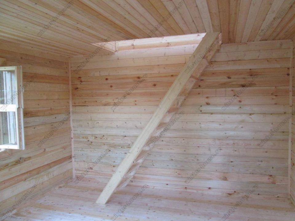 Дома из бруса под ключ в Рязанской области недорого фото1