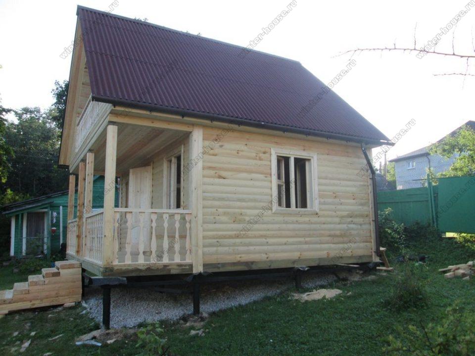 Дома из бруса под ключ в Рязанской области недорого