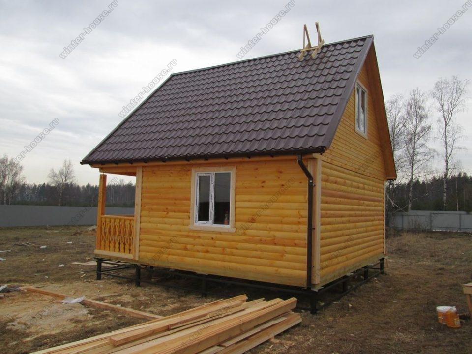 Небольшие дома из бруса под ключ проекты и цены