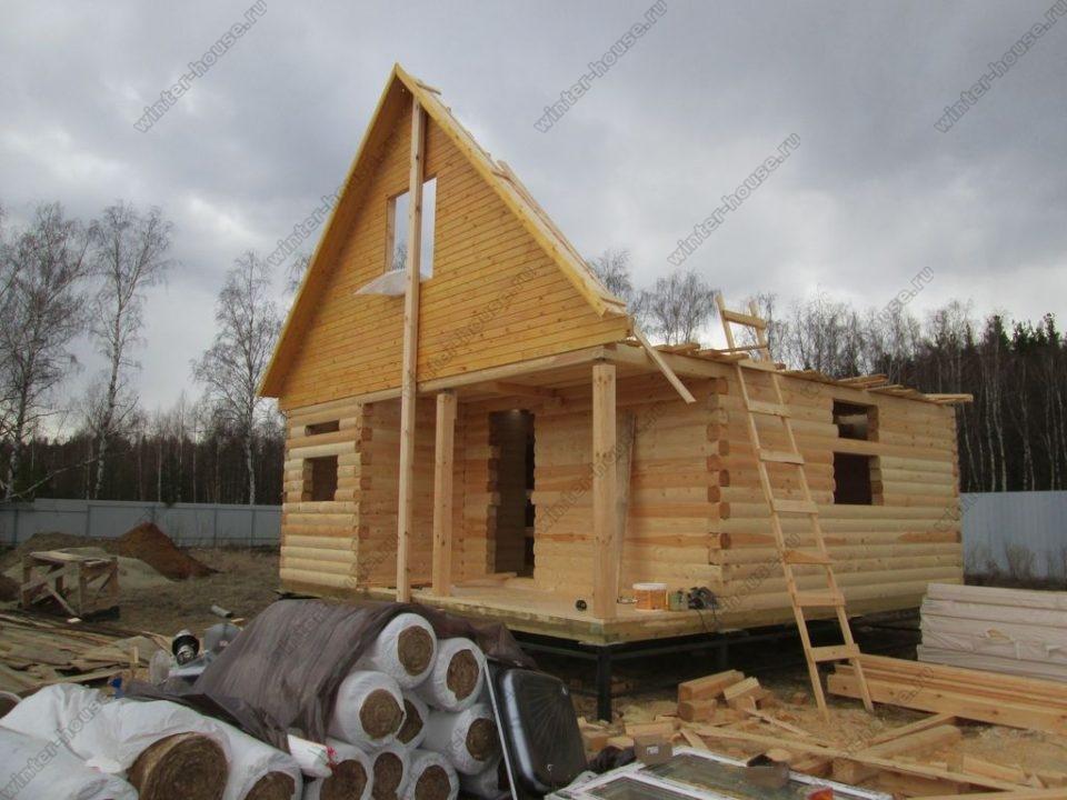 Небольшие дома из бруса под ключ проекты и цены фото1