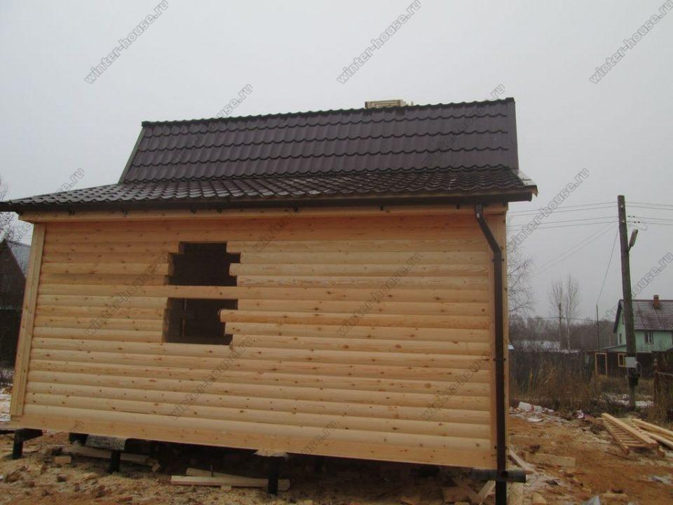 Строительство домов из бруса под ключ проекты и цены в Калужской области фото1