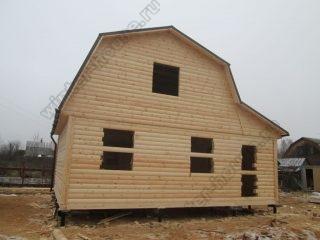 Строительство домов из бруса под ключ проекты и цены в Калужской области
