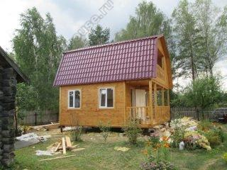 Деревянные дома из бруса с мансардой фото проекты