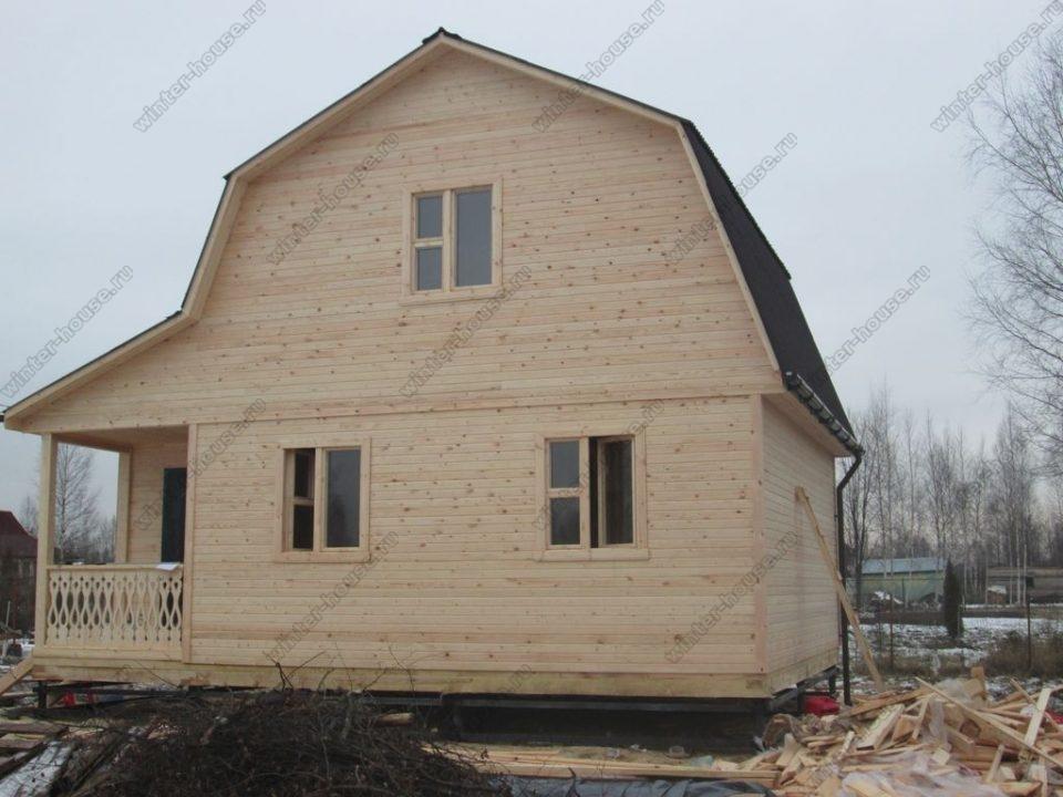 Каркасные дома под ключ недорого для постоянного проживания