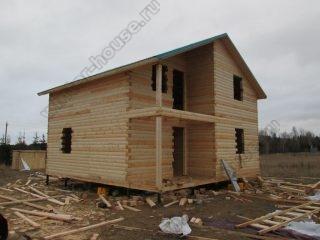 Строительство домов под ключ из профилированного бруса цены в Ярославле