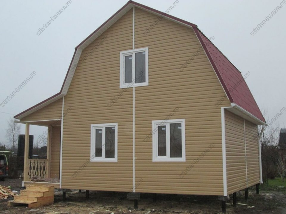 Каркасные дома под ключ недорого для постоянного проживания цены в Москве