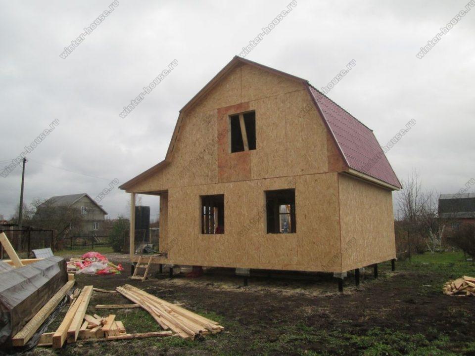 Каркасные дома под ключ недорого для круглогодичного проживания цены в Москве