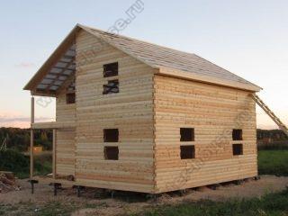Дома из бруса в Ярославской области без отделки проекты и цены