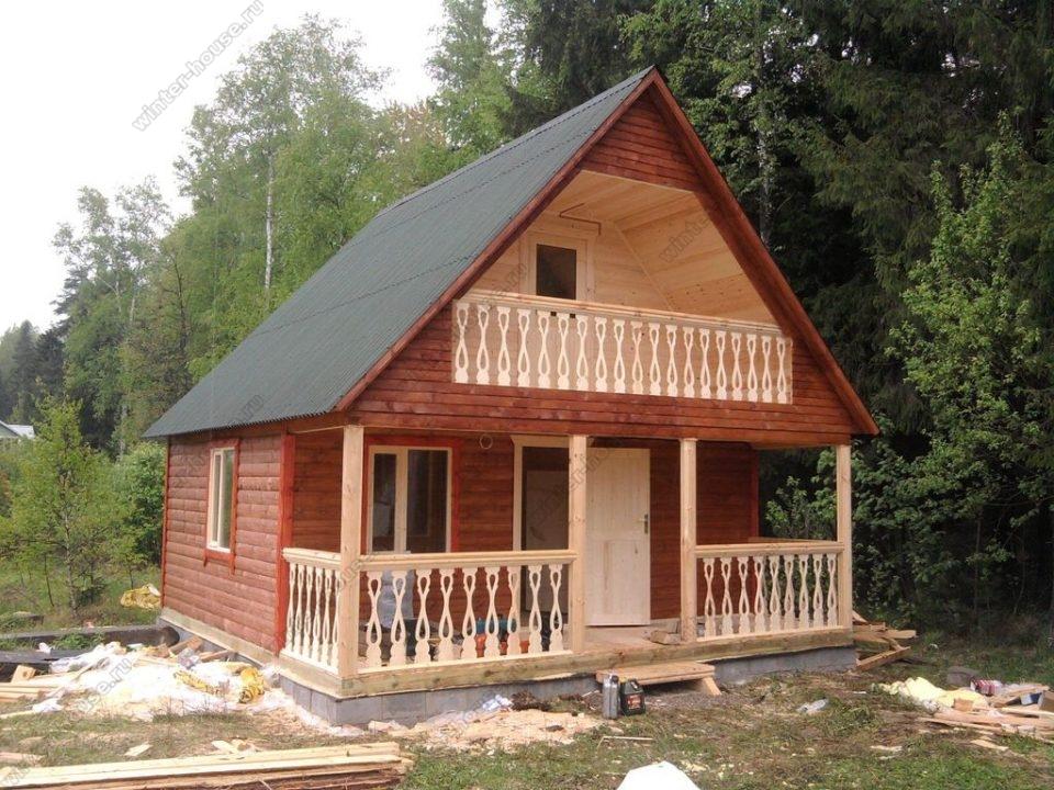 Построить недорогой дом из бруса в Иваново под ключ