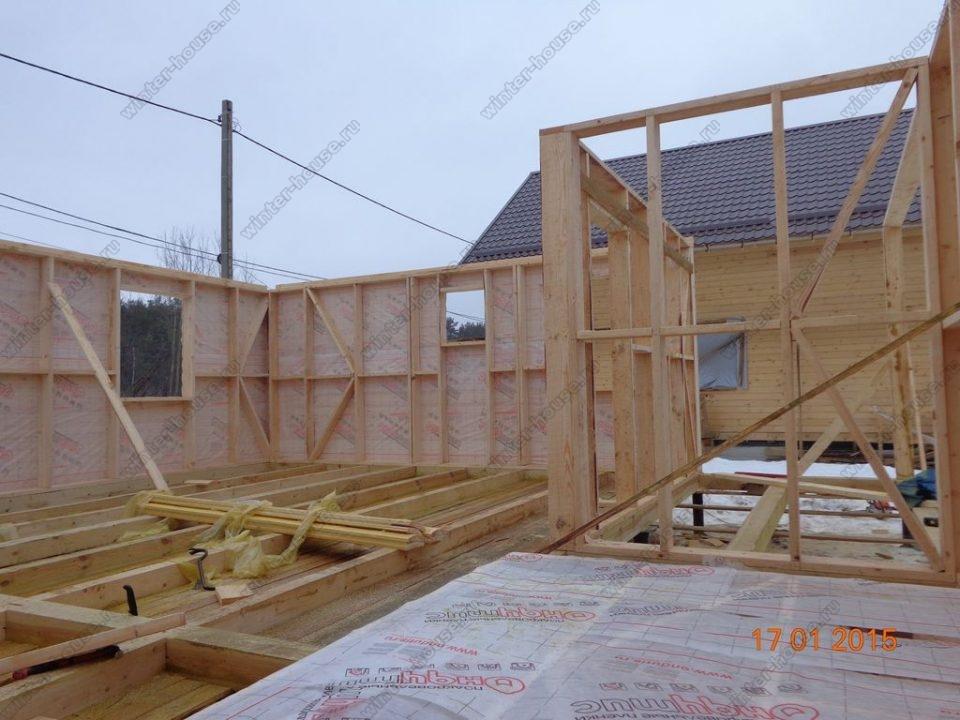 Каркасные дома по Канадской технологии проекты и цены фото2