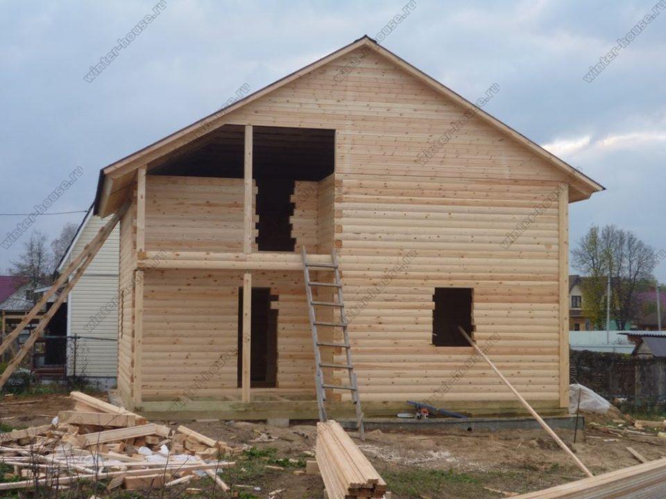 Дома из профильного бруса под ключ цены и проекты