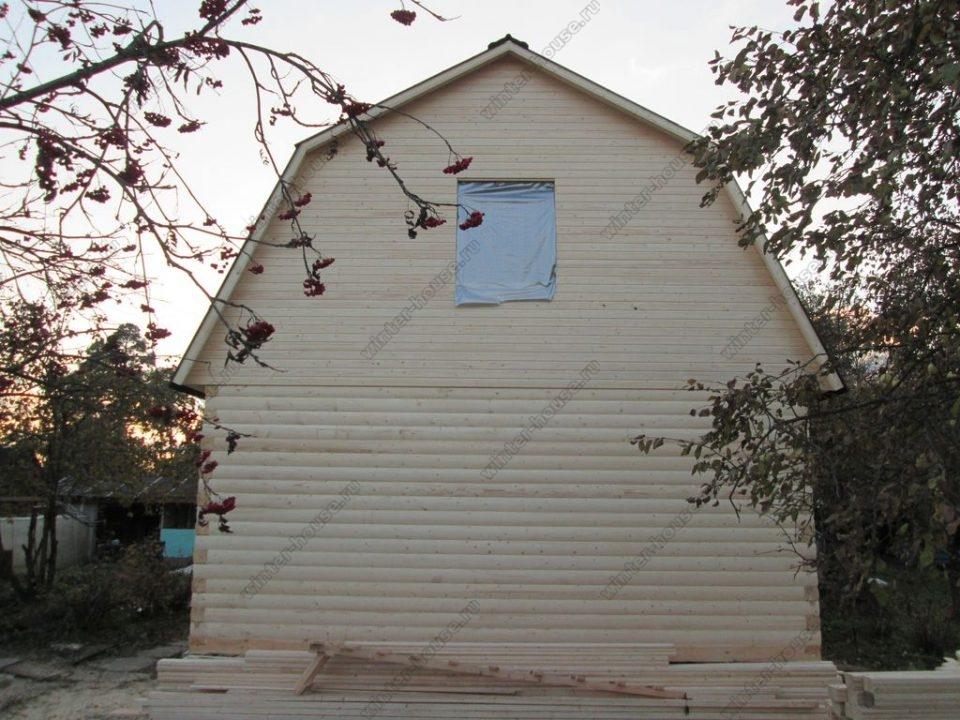 Построить дом из бруса под ключ недорого для постоянного проживания фото5