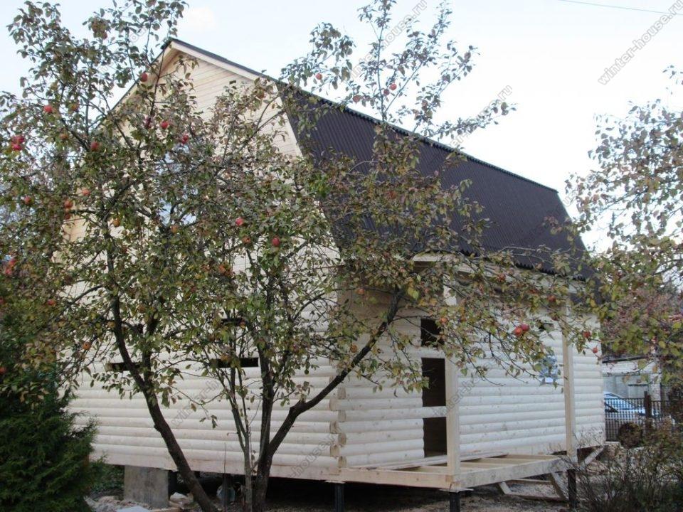 Построить дом из бруса под ключ недорого для постоянного проживания