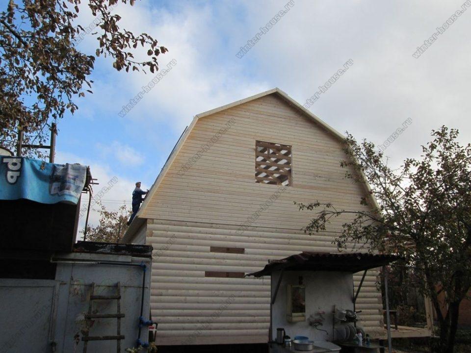 Построить дом из бруса под ключ недорого для постоянного проживания фото3