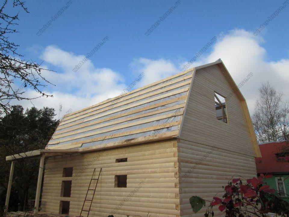 Построить дом из бруса под ключ недорого для постоянного проживания фото2