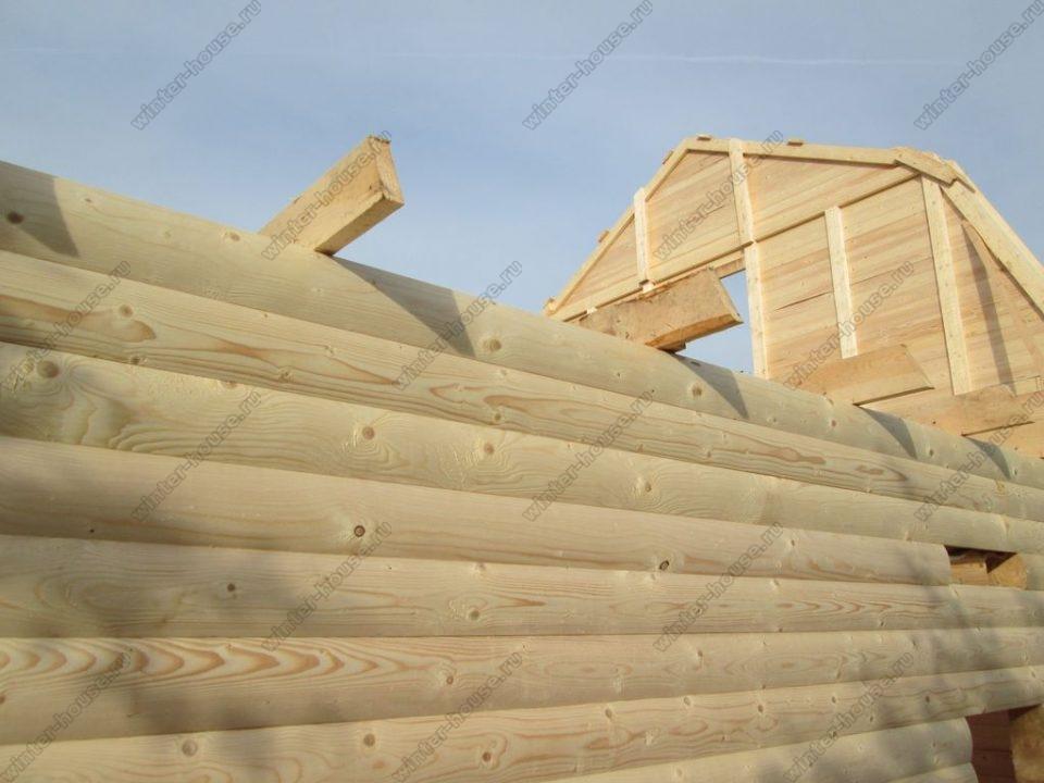 Построить дом из бруса под ключ недорого для постоянного проживания фото1