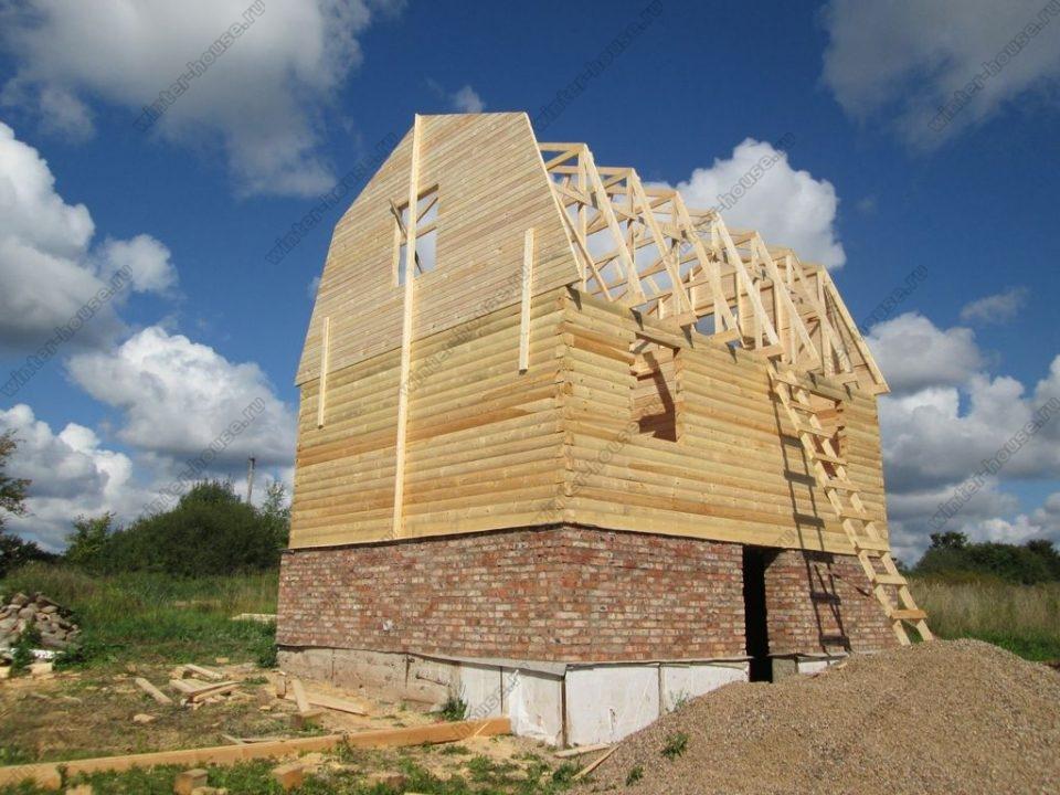 Зимние дома из бруса под ключ проекты и цены в Подмосковье фото2