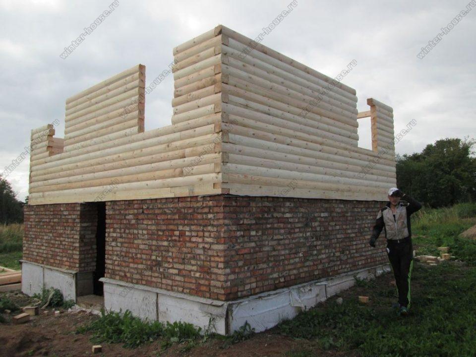 Зимние дома из бруса под ключ проекты и цены в Подмосковье фото1