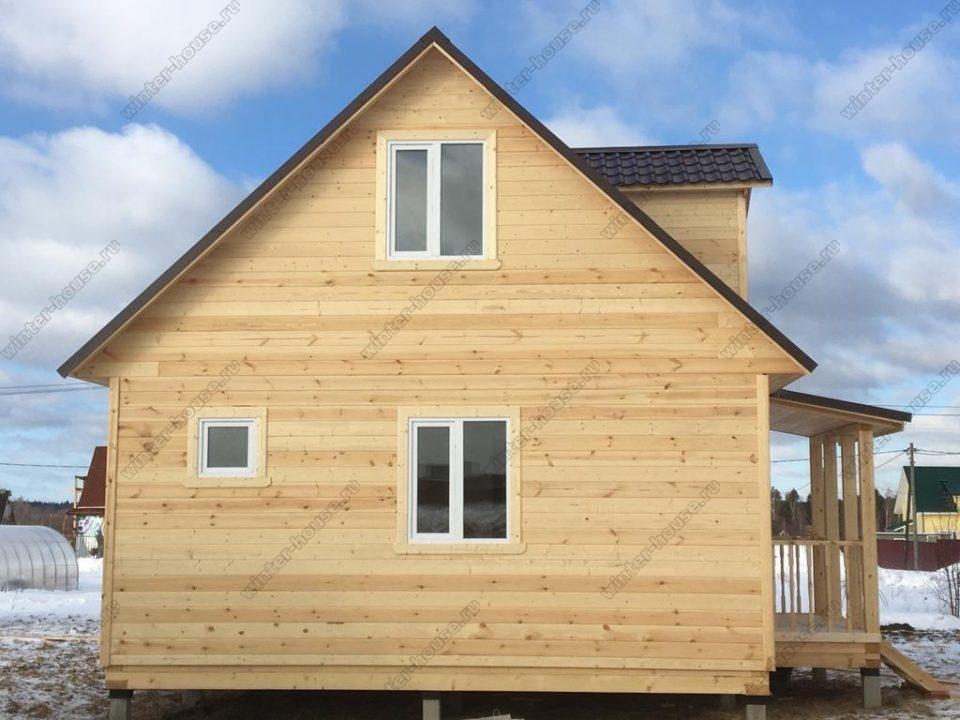 Дома каркасные для зимнего проживания под ключ проекты и цены в Москве