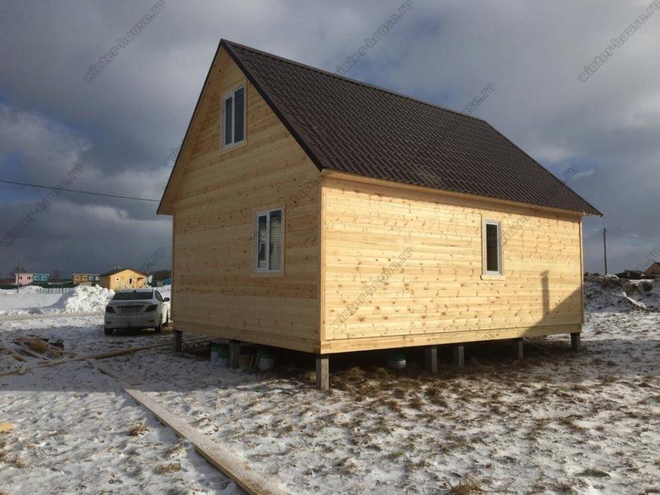 Фото1 каркасного дома для зимнего проживания под ключ проекты и цены