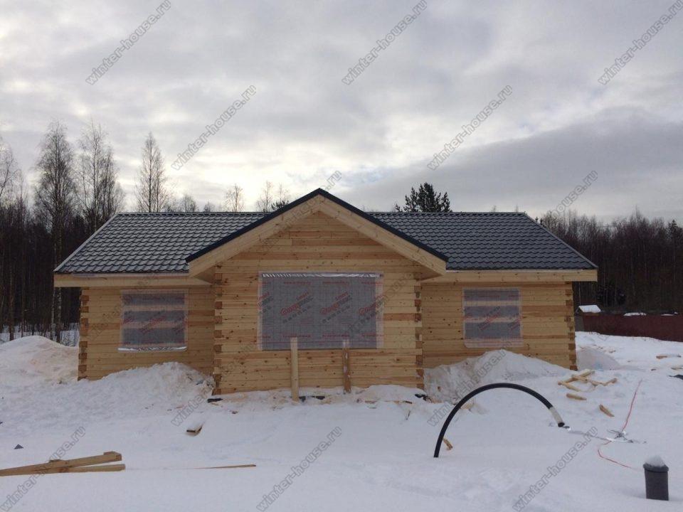 одноэтажные финские дома из бруса под ключ проекты и цены